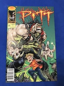 PITT #2 NEWSSTAND EDITION IMAGE COMICS  1993 DALE KEOWN NM+