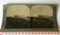 V18898 SHELLING RUINED FRENCH VILLAGE WW1 Antique KEYSTONE Victorian Stereoview