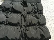 Girls black school coat, next, size 7-8 years.