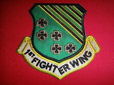 US Air Force 1st FIGHTER WING Air Combat Command 9th AF Patch