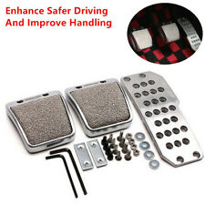 Car Foot Pedals Pad Clutch Brake Type Non-Slip Manual Footst Cover Cool look