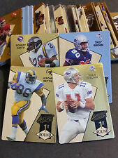 1993 Action Packed Rookie Update Complete Set - NFL - Bettis,Bledsoe R/C