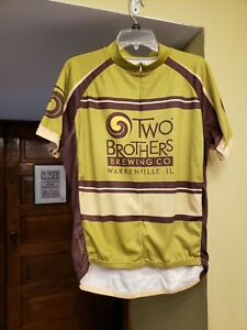 Two Brother Brewing Jersey size X-large.