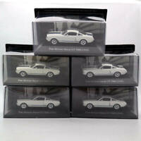 Set of 5pcs IXO 1:43 Ford Mustang Shelby GT 350H 1965 Car Diecast Models Toys