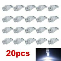 20PCS T10 White LED 194 168 SMD W5W Car Wedge Side light Bulb lamp DC 12V