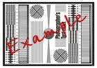 US 8 AF Calibration Lens Focus Chart Alignment Micro Adjustment Panasonic cha