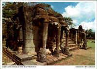 Kambodscha Cambodge Cambodia Siem Reap Postcard Elephants Terrace, Elefanten