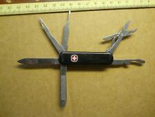 Retired Wenger Pocket Tool Chest Swiss Army knife in black - NKS
