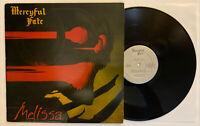 Mercyful Fate - Melissa - 1983 US 1st Press Megaforce (EX) Ultrasonic Clean