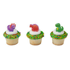 Dinosaur Pals Cupcake Rings - 24 Count
