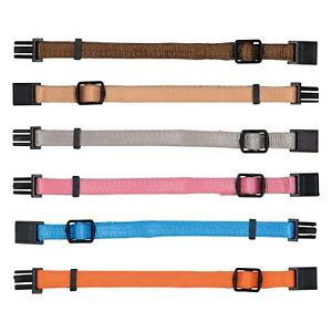 Trixie Puppy Whelping Collars Soft Nylon Adjustable 6 Colours M/L Welping 6
