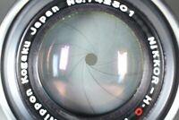 Rare {NEAR MINT Black Belt} Nikon Nikkor H C 5cm 50mm f2 Leica L39 LTM JAPAN 430