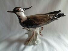 VINTAGE W. GOEBEL GERMANY LAPWING LARGE BIRD CV 78 38-078- AS IS