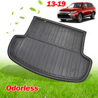 For Mitsubishi Outlander 2013-2019 Rear Trunk Cargo Mat Floor Tray Boot Liner