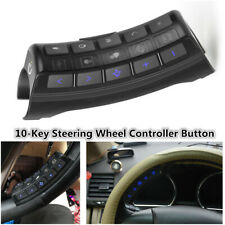 Universal 10-Key Car Steering Wheel Button Remote Control For Stereo Player GPS