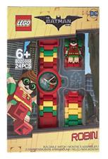 Lego Batman Movie Robin Minifigure Link Wrist Watch for Kids 8020868