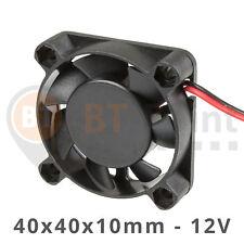 Axial Lüfter 40x40x10mm 12V 0.06A Fan Cooler 3D Drucker Printer Hotend 40mm 4010