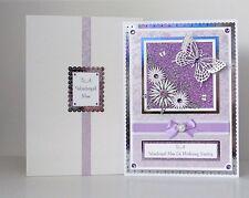 Birthday Card Wife/Mum/Friend/Sister etc Boxed A4 Handmade & Personalised