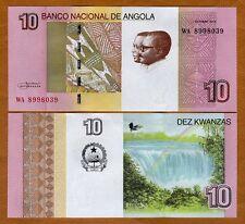 Angola, 10 Kwanzas, 2012 (2017), P-New, UNC > Luena Falls