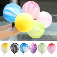 Marble Agate Cloud Latex 12'' Balloon for Birthday Wedding Baby Shows vi