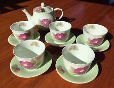 Twelve-Piece Porcelain Tea Set (from Arita) - Stunning & Sophisticated