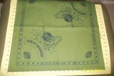 HARLEY DAVIDSON BANDANAS GENUINE HD SALUTES THE MILITARY 2010 BANDANAS NEW NOS
