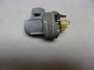 1957-1958  Chevrolet Ignition Switch  1958-1959 Corvette