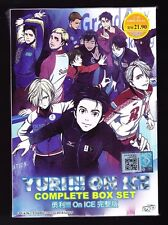 *NEW* YURI!! ON ICE *12 EPISODES*ENGLISH DUBBED*ANIME DVD*US SELLER*FREE SHIP*