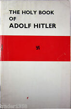 THE HOLY BOOK OF ADOLF HITLER Battersby First Published in november 1952 Raro!