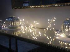Mini Clusterkette mit 160 Warmweißen LEDs