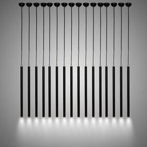 Modern LED Cylinder ceiling Lamp Dining Room bar kitchen light Tube Pipe line