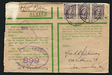 AUSTRALIA: (15210) ARMY P.O. 28 cancel/censor cover