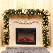 christmas fireplace decorations | eBay