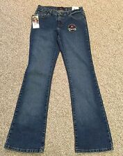 Polo Womens Juniors Jeans Stretch  Size 7/8 Slight Flare NWT