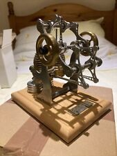 Stirling Steam Engine Swing Arm Combustion Engine - Working Model