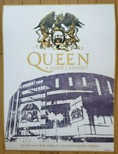 Queen Poster Lithograph Madison Square Garden New York 8/6-7/19 Mint #112 of 250