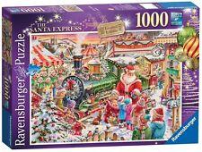 Ravensburger puzzle * 1000 pièces * the santa Express * weihnachtszug * rare * NEUF + OVP