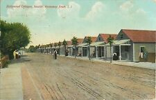 A Panoramic View of the Hollywood Cottages, Seaside, Rockaway Beach NY 1908