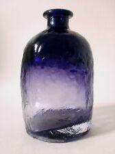 70er Flaschen Vase 2073 Glas Klaus Breit Wiesenthalhütte 70s glass Sarpaneva era
