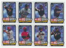 2004 Upper Deck Vintage 3-D Sluggers - Set - 90 Cards