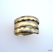 old silver ring vintage antique ethnic tribal belly dance jewelry