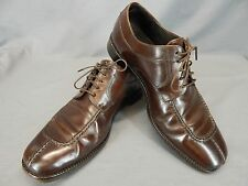 Cole Haan Split-Toe Oxfords Brown Lace up Leather Men's Size 9 M  #C04717