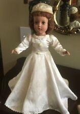 "Must See Rare Vintage 1950's Arranbee (R&B) Stunning Nancy Lee Bride Doll 14"""