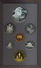 Canada 1995 Double Dollar $1 Proof Coin Set Silver COA Box Hudson's Bay Red