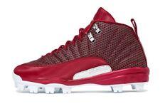 Nike Jordan 12 XII Retro MCS Size 10.5 Baseball Cleats Red 854566-600