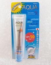 Mistine Aqua Base Hydra Facial Mousse Cream Sunscreen Spf 50 Pa+ New! 20ml