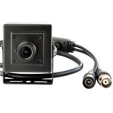 "Mini 1/3"" Effio-E 700TVL CCD Objectif 3.6 mm caméra cachée avec boîtier en aluminium noir"