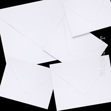 500 x White 5 inch Square Envelopes 130 x 130mm - Wholesale