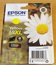 GENUINE EPSON T1814 XL Yellow cartridge ORIGINAL 18XL DAISY OEM ink C13T18144012