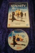 DVD.SERENITY.ACTION ADVENTURE.SCI FI.UK REGION 2 DVD.JOSS WHEDON.